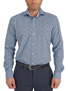 Baumler Floral Classic Fit Long Sleeve Shirt