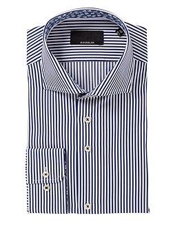 Stripe Classic Fit Long Sleeve Shirt