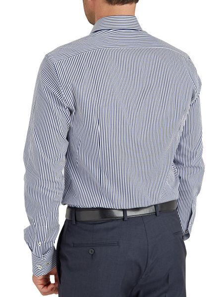 Baumler Stripe Classic Fit Long Sleeve Shirt