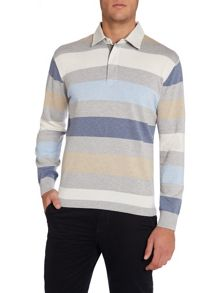 Plain Rugby Neck Regular Fit Rugby Top