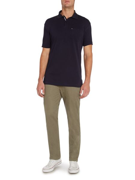 Paul Costelloe Plain Polo Regular Fit Polo Shirt