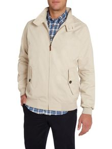 Casual Button Harrington Jacket
