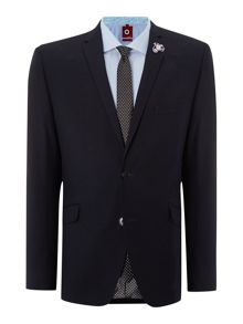 Plain Notch Collar Slim Fit Suit