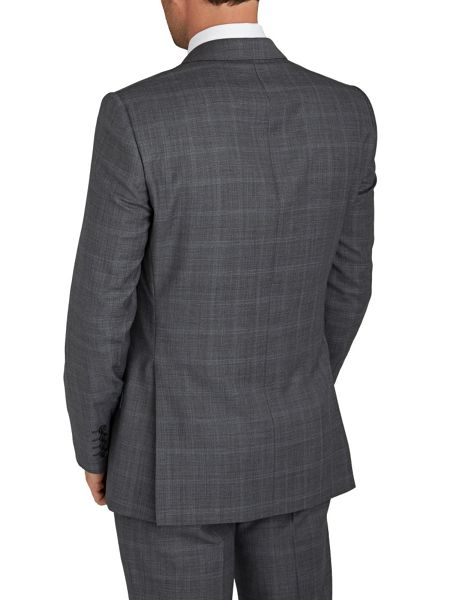 Paul Costelloe Modern Fit Grey Check Suit Jacket
