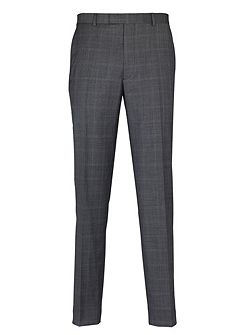 Multi-Check Suit Trousers