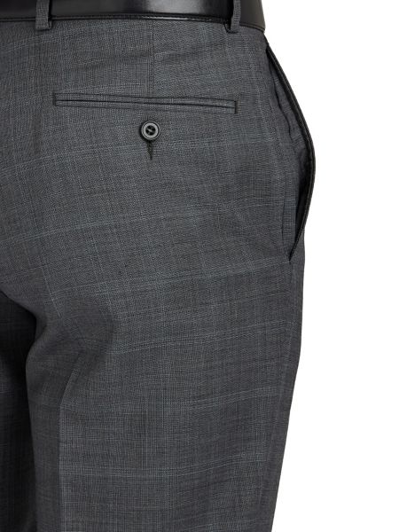 Paul Costelloe Multi-Check Suit Trousers