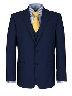 Modern Fit French Navy Suit Jacket
