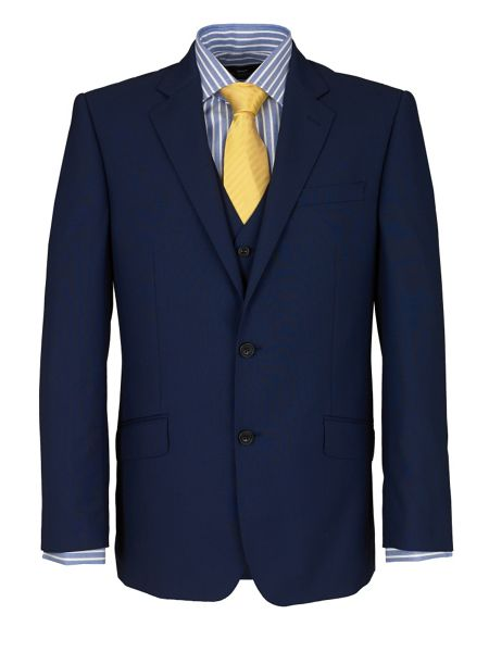 Paul Costelloe Modern Fit French Navy Suit Jacket
