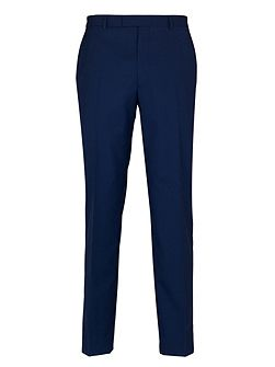 French Navy Plain Suit Trousers