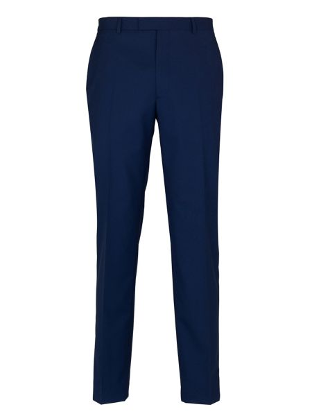 Paul Costelloe French Navy Plain Suit Trousers