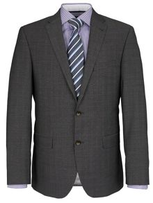 Baumler Superfine Pindot Two-Piece Slim Fit Suit