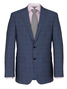 Mid-Check Two Piece Suit