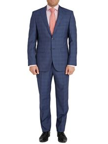 Baumler Mid-Check Two Piece Suit