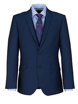 Modern Fit Ocean Blue Suit Jacket