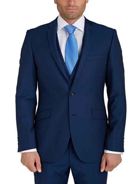 Paul Costelloe Modern Fit Ocean Blue Suit Jacket
