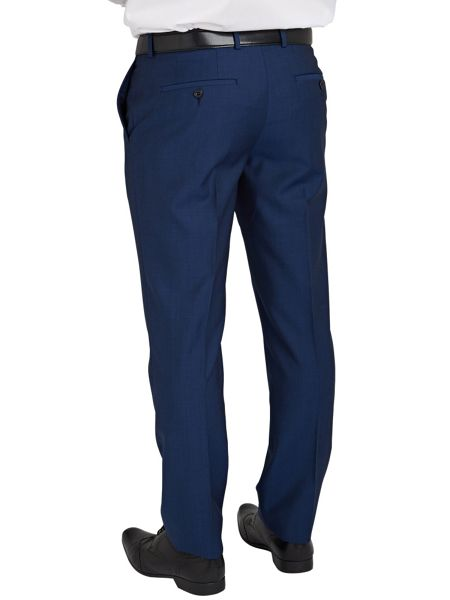 Paul Costelloe Plain Weave Slim Fit Suit Trousers