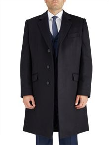 Paul Costelloe Navy Smithfield Coat