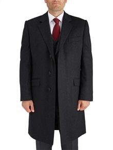 Paul Costelloe Charcoal Smithfield Coat
