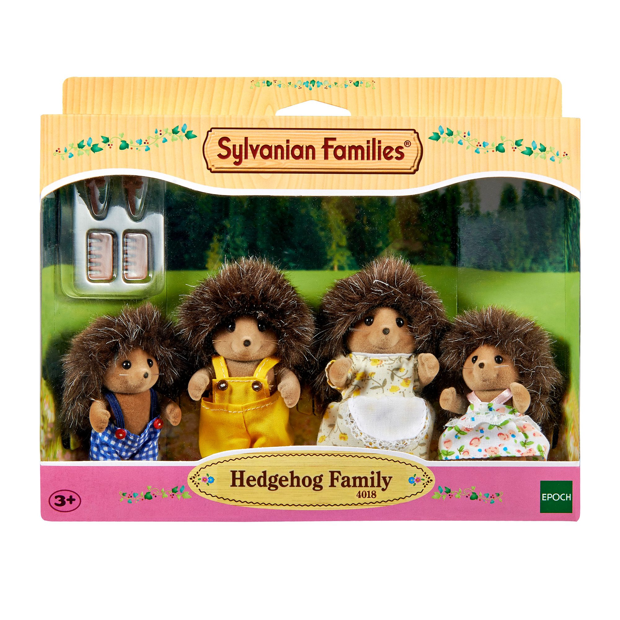 Sylvanian Families Hedgehog Family Set