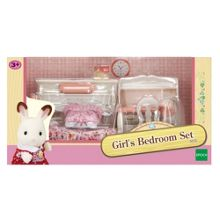 Sylvanian Families Pink Bedroom Set