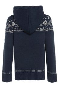 Boys wicked knitted hoodie