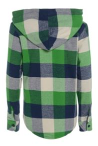Boys lotoey hooded long sleeve shirt