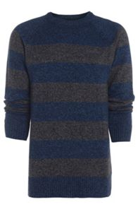 Woodbe knitted crew neck jumper