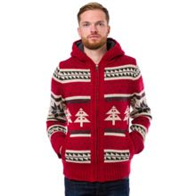 Wickham knitted full zip hoodie