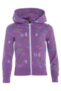 Girls shorna full zip hoodie