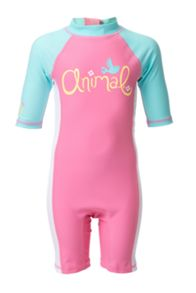 Girls pipsqueek rash vest suit