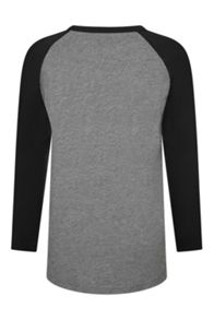 Boys Swash raglan 3/4 slv t-shirt