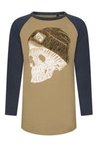 Animal Boys Swash raglan 3/4 slv t-shirt