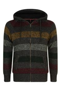 Animal Knit Full Zip