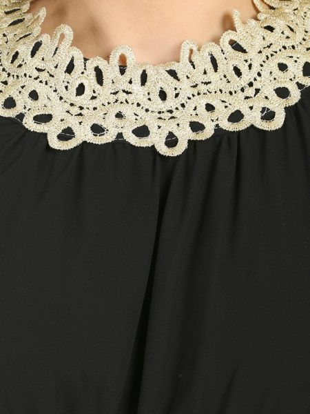 Chase 7 Lace Trim Maxi Dress