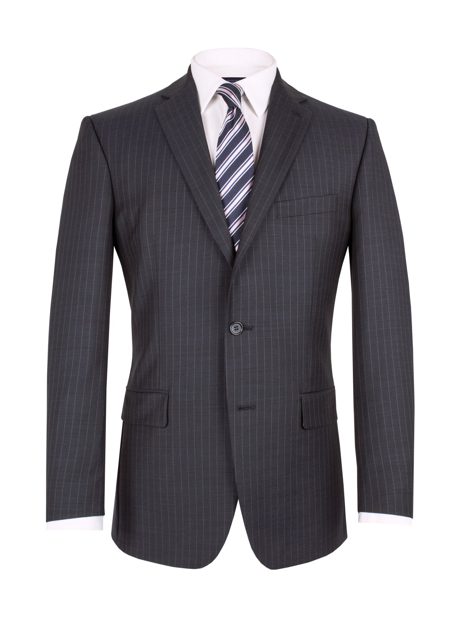 Sharkskin stripe jacket