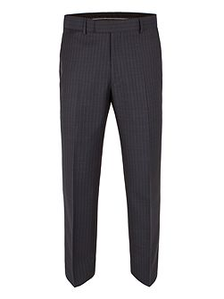 Sharkskin stripe trousers