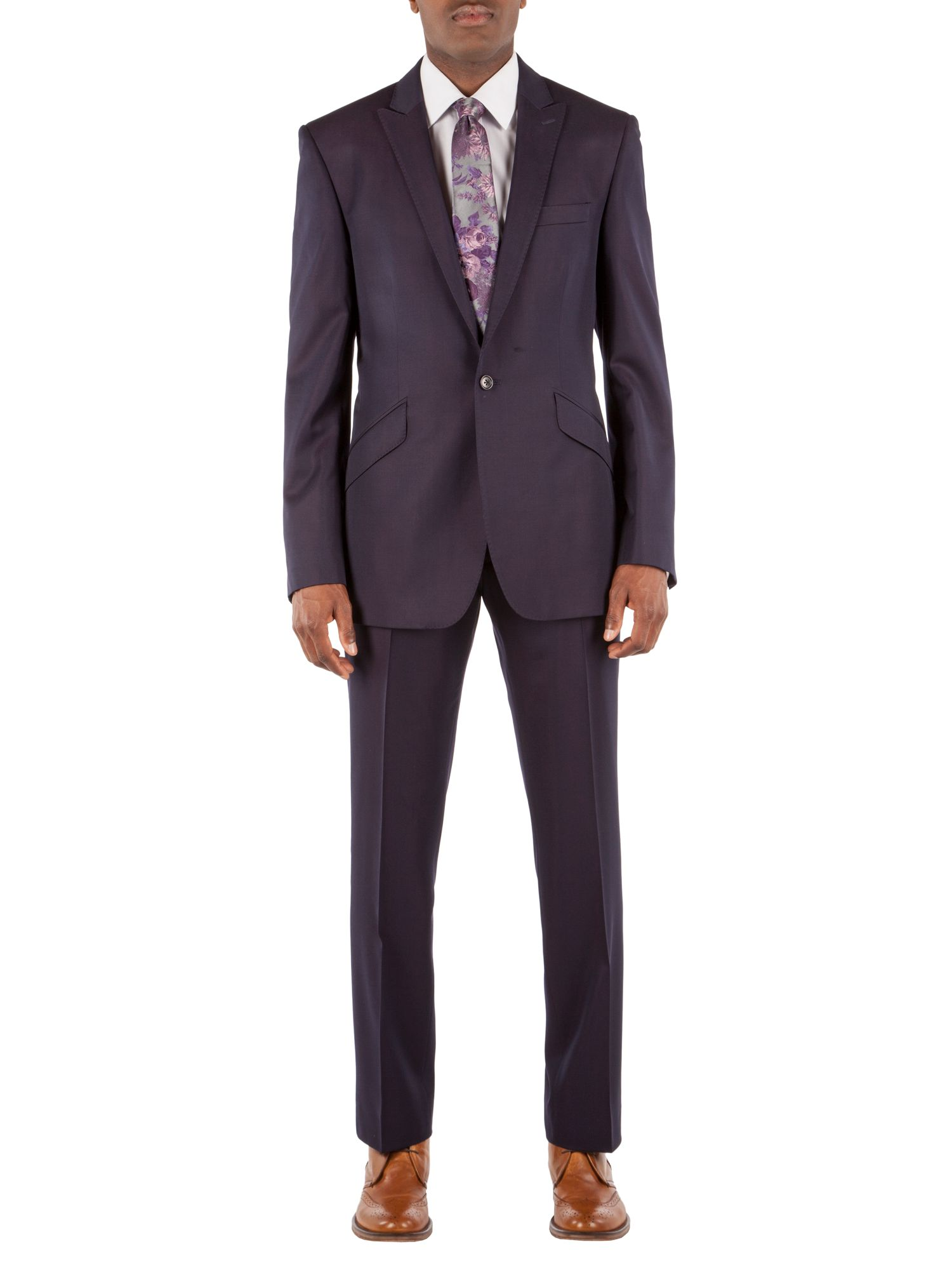 Single breasted twill suit