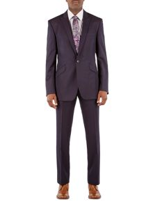 Alexandre of England Single breasted twill suit