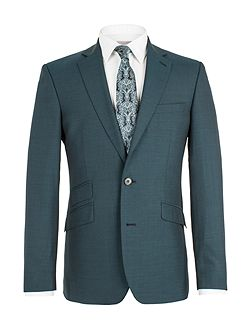 Plain weave single breasted tail jacket