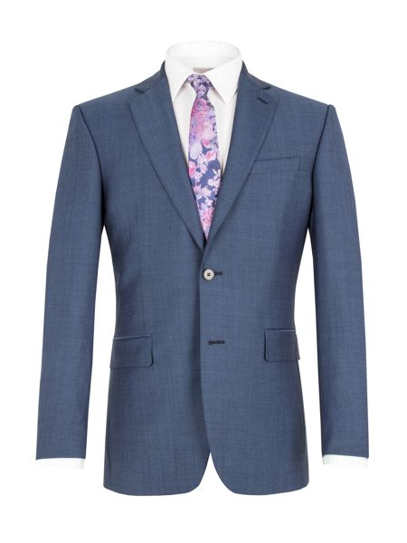 Alexandre of England Semi plain single breasted jacket