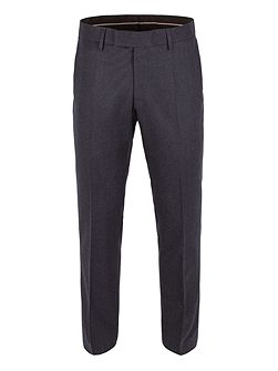 Plain Flannel Suit Trousers