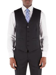 Alexandre of England Stripe regular fit waistcoat