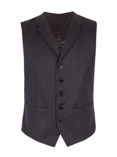 Alexandre of England Plain Notch Collar Waistcoat