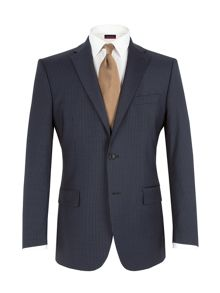 Pierre Cardin Stripe notch lapel jacket