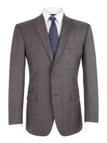 Pierre Cardin Check notch lapel jacket