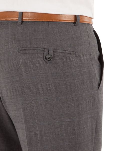 Pierre Cardin Check regular fit trousers