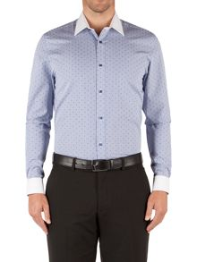 Carter Textured Tailored Fit Long Sleeve Classic