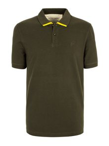 Otley tipped pique polo shirt