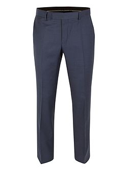 Patterned Tailored Fit Suit Trousers