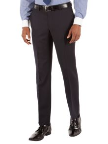 Racing Green Herringbone Tailored Fit Suit Trousers
